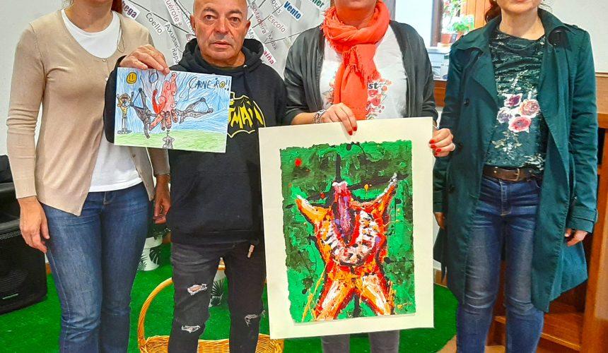 Paula Carballo e Eva Stewart gañan o concurso da 50ª Festa do Carneiro ao Espeto e os seus carteis serán a imaxe promocional